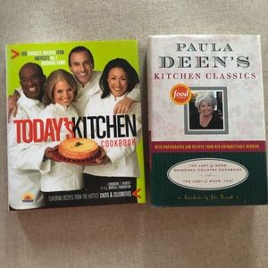 Cookbooks Today Show and Paula Dean